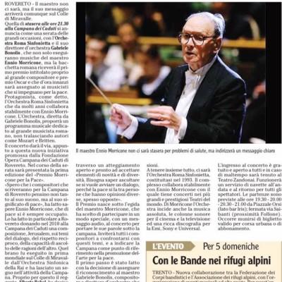 L'Adige - presentazione Premio